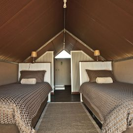 Bell Ggorge Wilderness Lodge safari tent accommodation