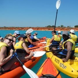 Broome for the family Turtle Kayak adventure