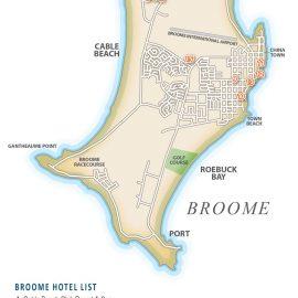 Broome info map