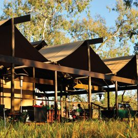 Bungle Bungle Wilderness Lodge guest dining