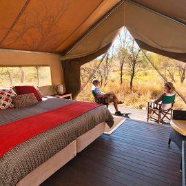 Bungle Bungle Wilderness Lodge superior tented cabin