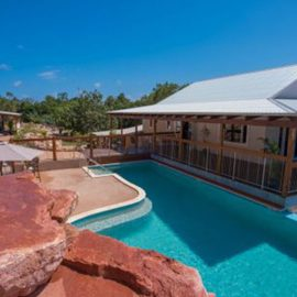 Cygnet Bay Pearl Farm pool