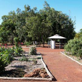 Drysdale River Station garden