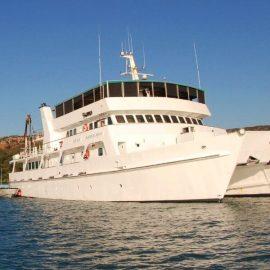 Eco Abrolhos cruising the Kimberley Coast