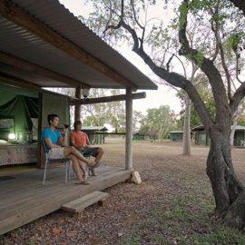 Fitzroy Lodge safari tent