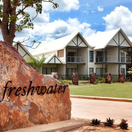 Freshwater East Kimberley Apartments entrance