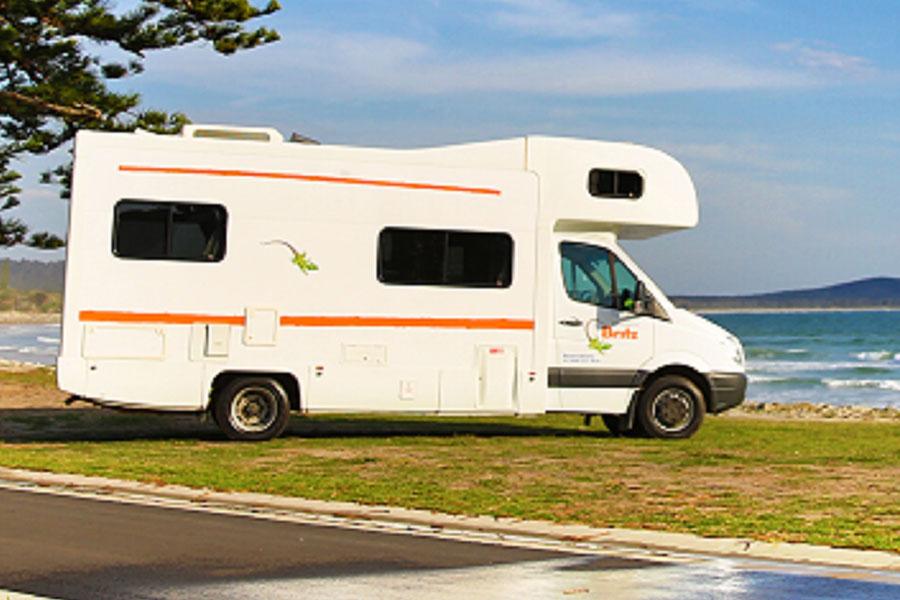 Kimberley 2WD & 4WD Campervan Hire - Britz Explorer