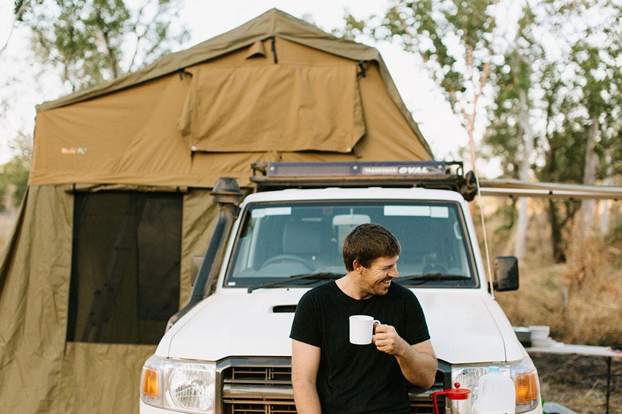Kimberley 2WD & 4WD Campervan Hire - Britz Safari Landcruiser