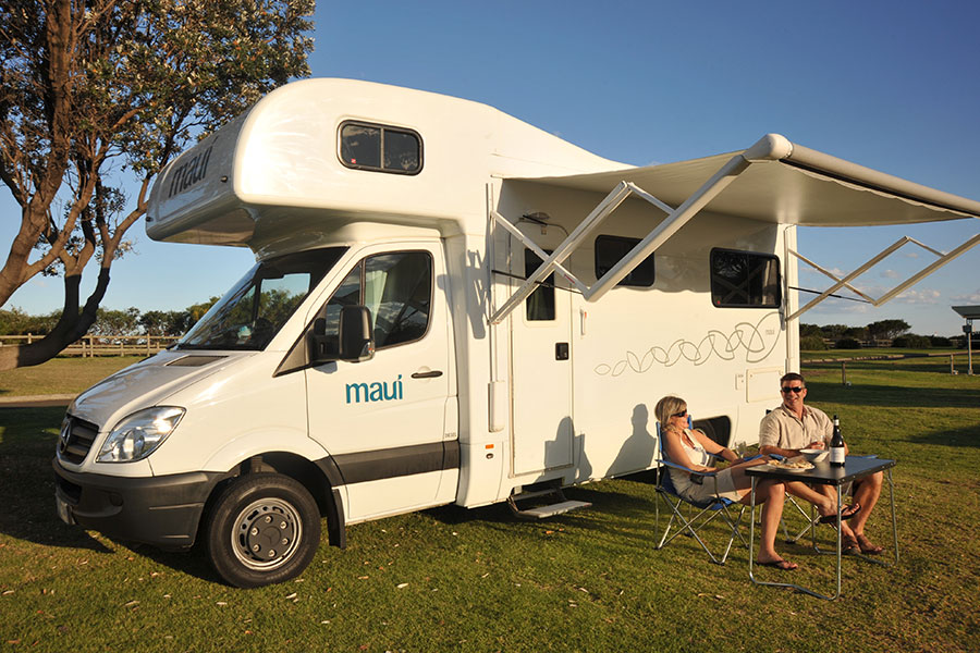 Kimberley campervan hire Maui Beach