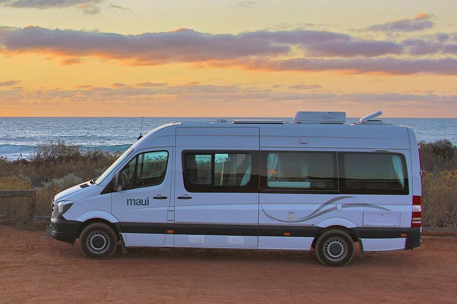 Kimberley campervan hire Maui Ultima
