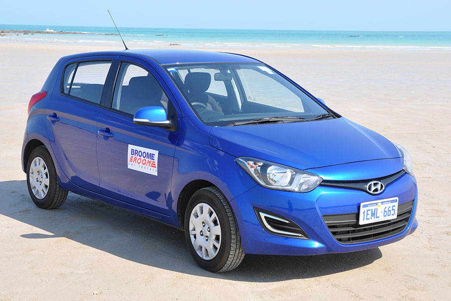 Kimberley region car and 4WD hire - Hyundai i20