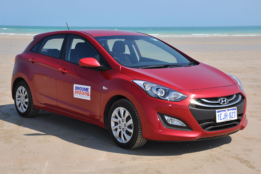 Kimberley region car and 4WD hire - Hyundai i30