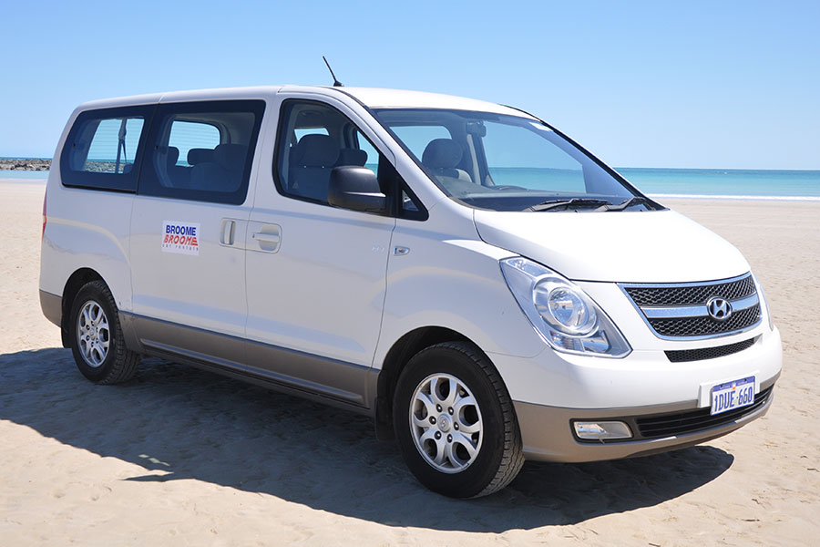 Kimberley region car and 4WD hire - Hyundai iMax