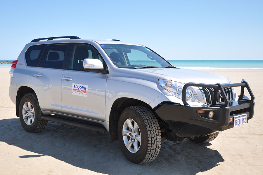 Kimberley region car and 4WD hire - Toyota Prado