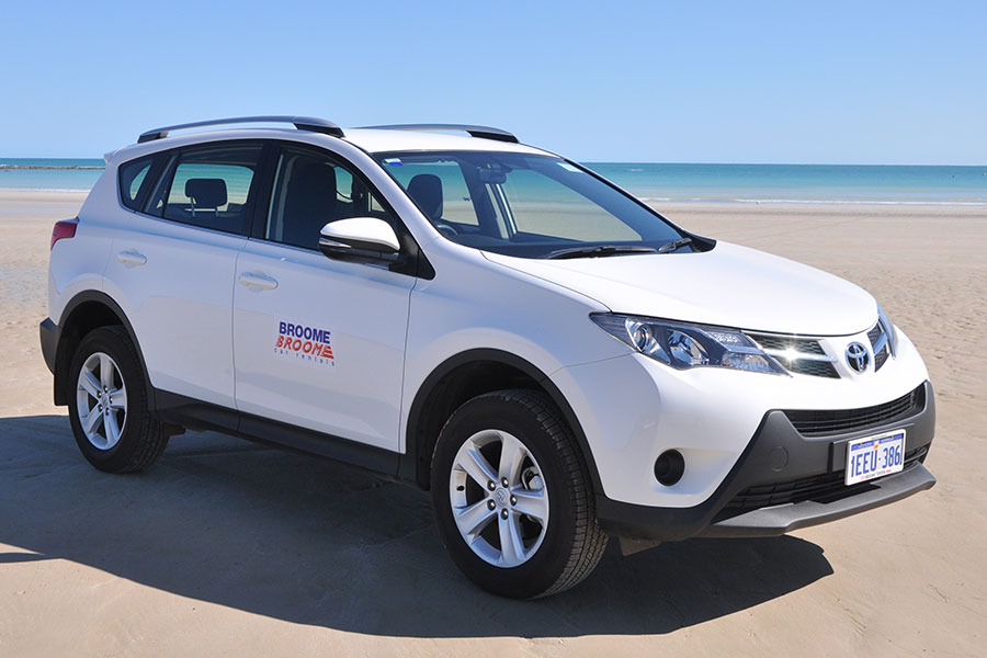 Kimberley region car and 4WD hire - Toyota RAV4