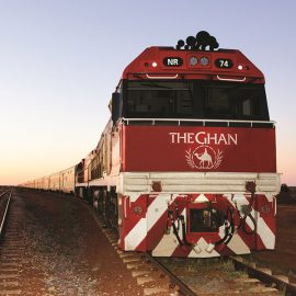 The Ghan from Adelaide