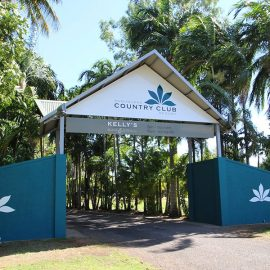 Kununurra Country Club Resort entrance
