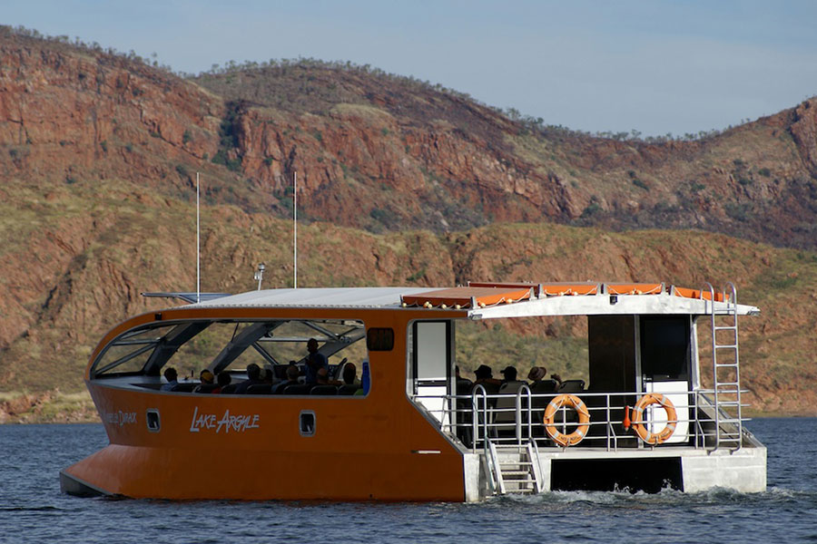 Lake Argyle Lunch Cruise, Lake Argyle
