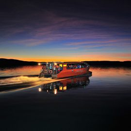 Lake Argyle Resort sunset cruise