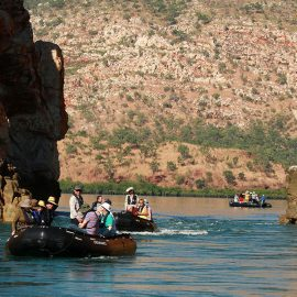 Le Laperouse exploring the Kimberley