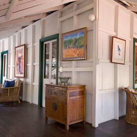 Pinctada McAlpine House Pearlers verandah