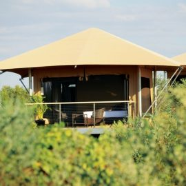 Ramada Eco Beach Resort garden view tent
