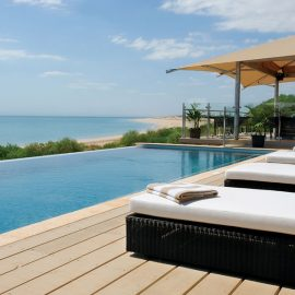 Ramada Eco Beach Resort infinity pool and deck